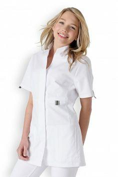 blouse medicale courte - Blouses Medicales Colores