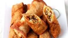 A great way for families to learn about other cultures is by celebrating their holidays with food. Try these egg rolls during the Chinese New Year.