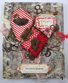 julD handmade: Love never gives up