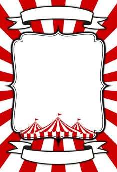 Circus Card Templates 4 Circus card customizable template for download by Dadartdesign #circus #card #printables Carnival Card, Carnival Signs, Diy Carnival, Circus Carnival Party, Circus Theme Party, Carnival Birthday Parties, Carnival Themes, Circus Birthday, Birthday Party Themes