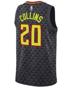 4f97cd8e3 Nike Men John Collins Atlanta Hawks Icon Swingman Jersey