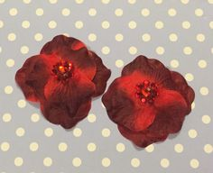 Blood red flower pasties $10. See www.facebook.com/rusty.blaze.5/ for more tassels and pasties :)