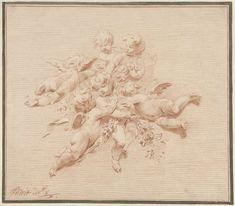 Engelengroep, Jacob de Wit, 1705 - 1754