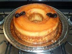 Nunca me conformei pq o bolo pudim tem que ser em banho-Maria, e não pode ficar fofo... Então eu testei, aprovei, fotografei e trouxe aqui p...