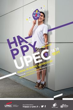 Happy Upec 2013 - Poster Design on Branding Served