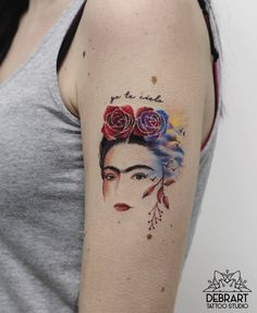 Frida Kahlo Tattoo by debrartist