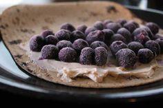 Blueberry Breakfast Quesadilla