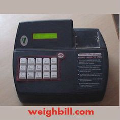 Billing machine reduces time and workload of the worker. Billing machine gives entire information about the shop details than any other traditional machines can do