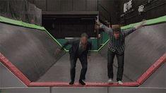 #Psych Jump! --- Gus & Shawn got stuck! lol.