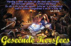 Christelike Boodskappies: Geseënde Kersfees