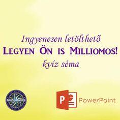 Legyen Ön is Milliomos Help Teaching, School, Blog, Design, Classroom Ideas, Internet, Modern, Usb Drive, Computer Science