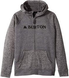 Burton Oak Full Zip Hoodie (Little Kids/Big Kids)