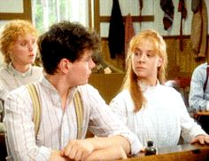 Anne Shirley and Gilbert Blythe in Anne of Green Gables