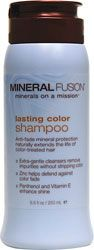 Mineral Fusion Lasting Color Mineral Shampoo 8.5 fl oz Liquid - Swanson Health Products with zinc