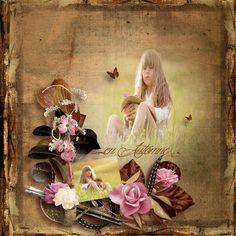 """Autumn memories"" by Scrap'Angie    http://digital-crea.fr/shop/scrap-angie-c-155_319/   Photo  Pixabay"