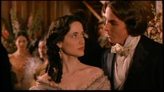 """Trini Alvarado (Meg March) & Christian Bale (Theodore """"Laurie"""" Laurence) - Little Women directed by Gillian Armstrong (1994) #louisamayalcott"""