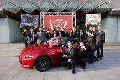 Mazda MX-5 eleito carro do ano no Japão!