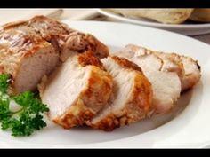 Osuna recibe en grande - Lomo de cerdo, Gratín de papas y Crema de ajos