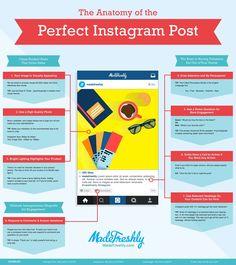 The Anatomy of the Perfect Instagram Post #infographic #SocialMedia #Instagram