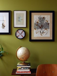 Paint Pick: Sassy Green 6416 by Sherwin Williams - this is what I will use in my living room