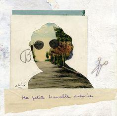 c h l o é  collage original  Ma petite Marcelle by chloesadoun, $95.00