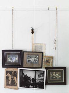 Hanging art.
