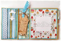 Paper bag Trifold card: Whiff of Joy - Tutorials & Inspiration: Card Folds