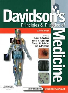 Greater than two million medical college students, docs and different well being professionals from across the globe have owned a duplicate of Davidson& Principles and Practice of Medicine Edition PDF Medicine Student, Medicine Book, Internal Medicine, Medicine Notes, Emergency Medicine, Medical Textbooks, Medical College, Medical Students, College Students