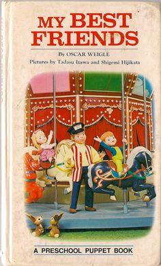VINTAGE KIDS BOOK My Best Friends a Preschool by HazelCatkins, $20.00