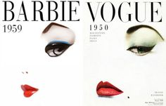 barbie art- vogue