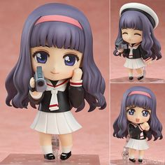 AmiAmi [Character & Hobby Shop] | Nendoroid - Cardcaptor Sakura: Tomoyo Daidouji(Preorder)