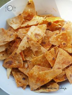 Moderna kuhinja - na moj način: [Stres, stres ...:] Kukuruzne tortille i tortilla chips
