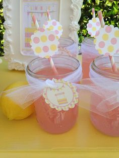 Lemonade Stand Spring Party Ideas | Photo 1 of 12 | Catch My Party