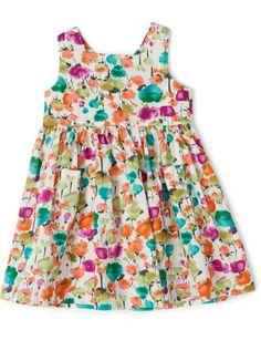 Waterlily Floral Print Dress | David Jones