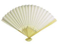 Paper Fan, 10 inch White , 10 pieces #G713 House of Rice http://www.amazon.com/dp/B000AIDYC8/ref=cm_sw_r_pi_dp_4zIQtb061FZ9TVNY