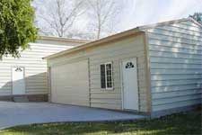 Steel buildings for garages steel garages geelong for Labor cost to build a garage