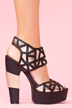de5ba3f74723 Gia Platform - Black Socks And Sandals