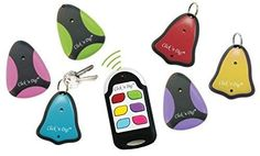 Click 'n Dig Model F6 Key Finder. 6 Receivers. Wireless RF Remote Item, Wallet Locator.