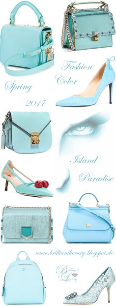 Brilliant Luxury by Emmy DE ♦ Fashion Color Spring 2017 ~ island paradise