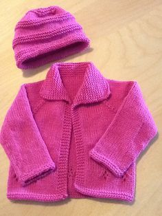Ravelry: Project Gallery for Easy Baby Cardigan pattern by Diane Soucy