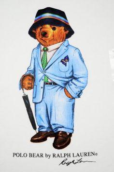 The ever-dapper Polo bear. That's one smart Kodiak! #RL