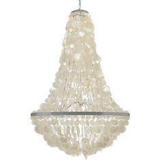 Found it at Wayfair - Manor Capiz Seashell 3 Light Empire Chandelier