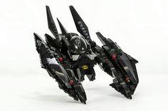 https://flic.kr/p/VYHsGG | Lego Batman Batwing MOC
