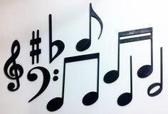 Nuove NEW Note musicali chiave di violino decorazioni @decoupage @Midecoupage @DecoupageArts
