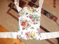 Ruffles,bows,dots,and much more...: Baby doll carrier tutorial