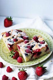 Becherkuchen, Beerenkuchen
