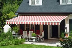 Awning Over Patio Area