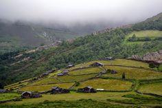 De excursión a Bustantigo. Allande. Asturias.