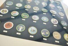 Idea: frame Dave's boy scout badges (via @younghouselove)