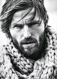 Rein Langeveld. His hair and beard.